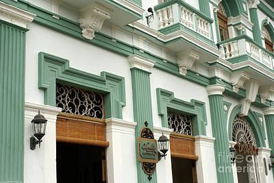 Photograph - Colonial Facade Granada Nicaragua by John  Mitchell