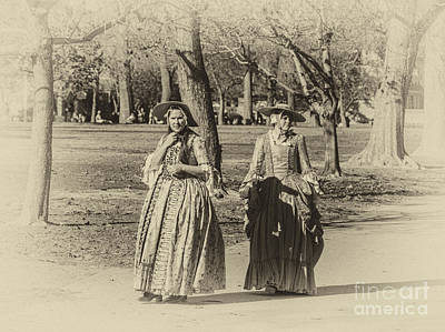 Photograph - Colonial Ladies I by Terry Rowe