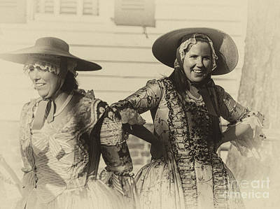 Photograph - Colonial Ladies II by Terry Rowe
