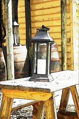 Colonial Light Art Print