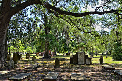 Photograph - Colonial Park Cemetery by Allen Beatty