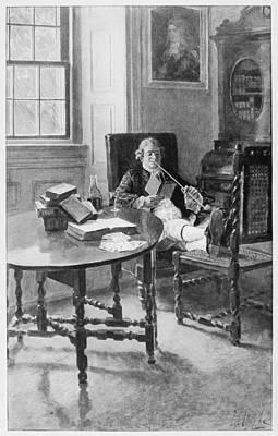 Colonial Planter Art Print