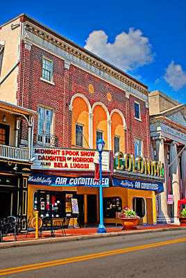 Photograph - Colonial Theater by Michael Porchik