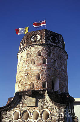 Photograph - Colonial Tower Costa Rica by John  Mitchell