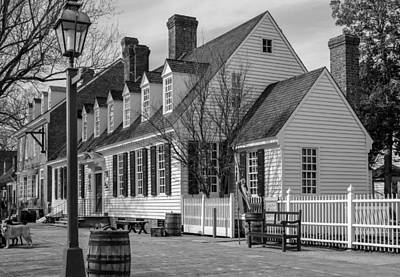 Art Print featuring the photograph Colonial Williamsburg  by Trace Kittrell