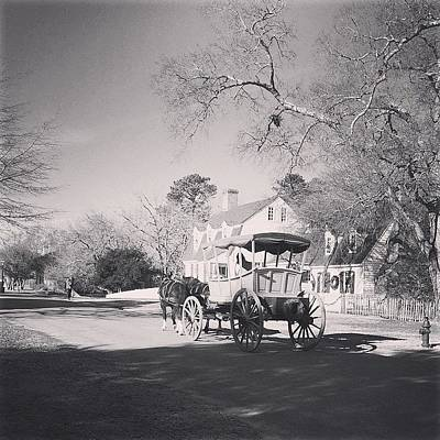 Iphone Photograph - Colonial Williamsburg. #virginia #iphone by Terry Rowe