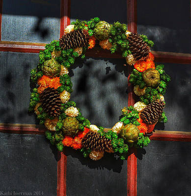 Photograph - Colonial Wreath by Kathi Isserman