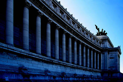 Photograph - Colonnade At A Monument by Celso Diniz