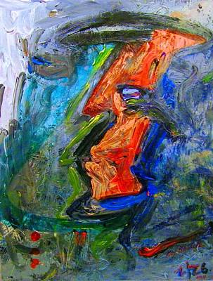 Painting - Color And Shape Of Dictatorship by Ray Khalife