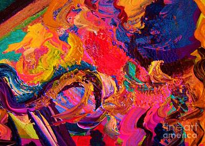 Color And Texture Art Print by Eloise Schneider
