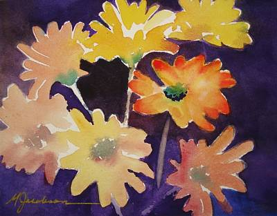 Color And Whimsy Art Print by Marilyn Jacobson