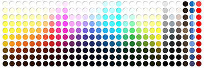 Digital Art - Color Chart Circles by Nikki Marie Smith