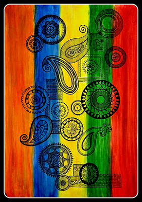 Painting - Color Club by Tanya Anurag