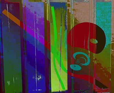 Digital Art - Color Cocktail by Peter Norden