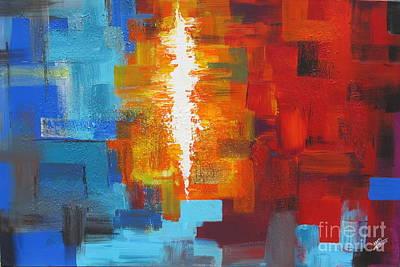 Color Deluge Original by Aarti Bartake