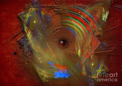 Digital Art - Color Disc by Alexa Szlavics