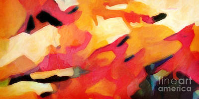 Painting - Color Dynamics by Lutz Baar