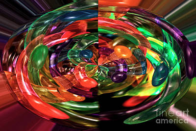 Color Explosion Photograph - Color Explosion by John Rizzuto