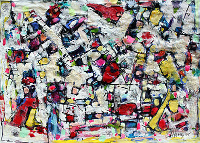 Color Fest Of Love Art Print by Hari Thomas