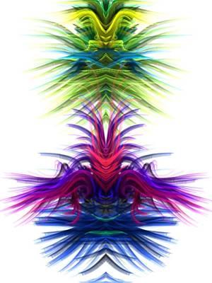 Digital Art - Color Festival by Kruti Shah