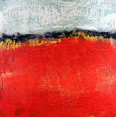 Painting - Color Field I by Rosemarie Hakim