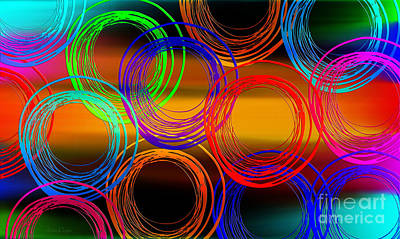 Digital Art - Color Frenzy 3 by Andee Design