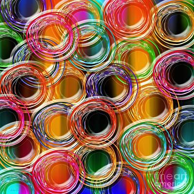 Frenzy Mixed Media - Color Frenzy 6 by Andee Design