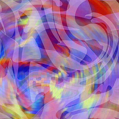 Digital Art - Color Full Abstract by rd Erickson