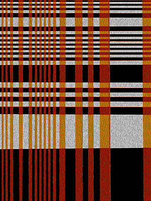 Color Grid Art Print by Art Spectrum
