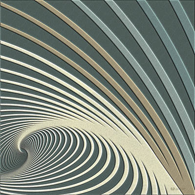 Color Harmonies - Lake Morning Dew Original by Serge Averbukh