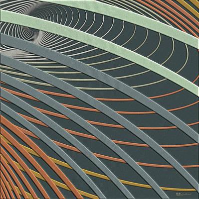 Digital Art - Color Harmonies - Urban Garden by Serge Averbukh