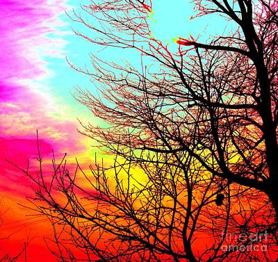 Mike Grubb Wall Art - Painting - Color In The Sky by Michael Grubb