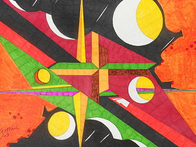 Color In Time Art Print by Willie McNeal