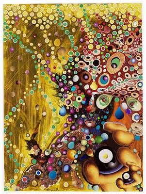 Art Print featuring the mixed media Color Intoxication Remix by Douglas Fromm
