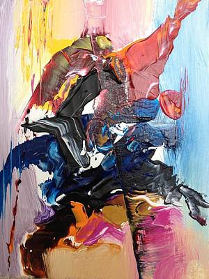 Vague Feelings Painting - Color Jumble by Angelo Terracciano