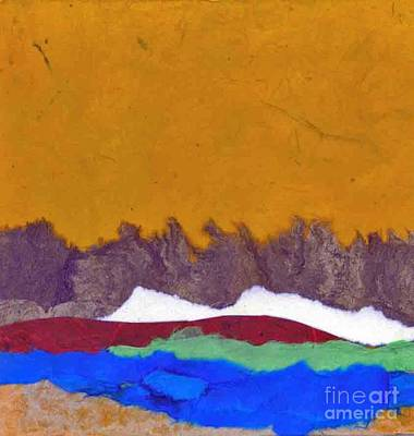 Mixed Media - Color Land by Patricia  Tierney