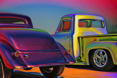 Art Print featuring the photograph Color Me A Hot Rod by Christopher McKenzie