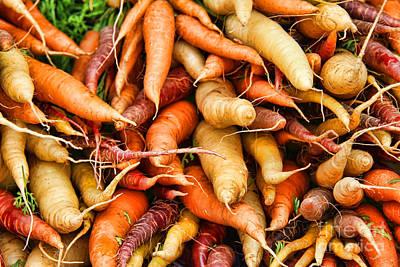 Photograph - Color Me Carrots By Diana Sainz by Diana Raquel Sainz