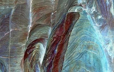 Photograph - Desert Abstract 17 Cn by John Hintz
