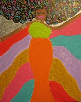 Painting - Color Of Dance by Clarissa Burton