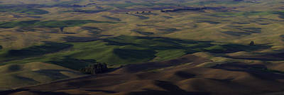 Contour Farming Photograph - Color Of Hills by Latah Trail Foundation