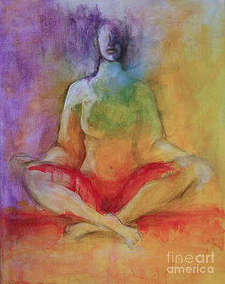 Painting - Color Of Meditation by Sandra Taylor-Hedges