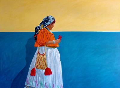 Painting - Color Of Mexico by Chris MacClure