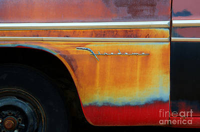 Color Of Rust Art Print by Bob Christopher