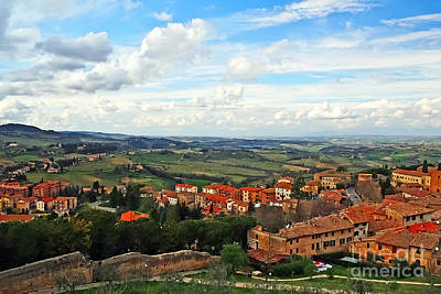 Photograph - Color Of Tuscany by Elvis Vaughn