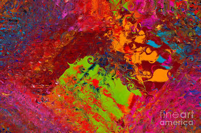 Digital Art - Color Pallet by Vicki Pelham