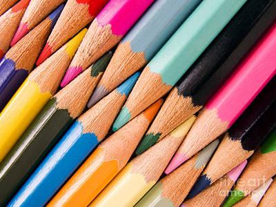 Pencil Photograph - Color Pencils by Jose Elias - Sofia Pereira