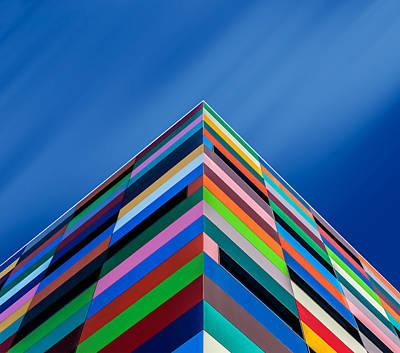 Color Pyramid Art Print