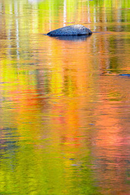 Photograph - Color Reflections-1 by Michael Hubley