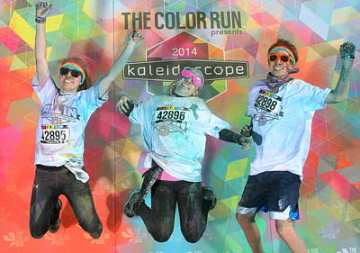 Photograph - Color Run 2014 by Kara  Stewart